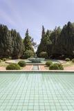 PORTO, PORTUGAL - JULY 05, 2015: Serralves gardens green park Royalty Free Stock Images