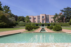 PORTO, PORTUGAL - JULY 05, 2015: Serralves gardens green park Royalty Free Stock Photos