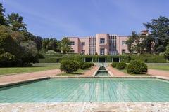 PORTO, PORTUGAL - JULY 05, 2015: Serralves gardens green park Royalty Free Stock Photos
