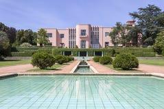PORTO, PORTUGAL - JULY 05, 2015: Serralves gardens green park Royalty Free Stock Photo