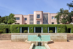PORTO, PORTUGAL - JULY 05, 2015: Serralves gardens, a green park in Porto Stock Photography
