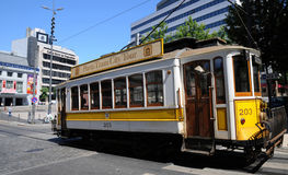 Porto, Portugal - july 10 2010 : a tramway Royalty Free Stock Photos