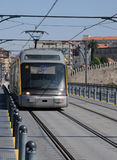 Porto, Portugal - july 10 2010 : a tramway Stock Photography