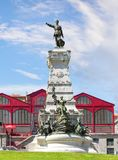 Statue of Prince Henry the Navigator. Porto, Portugal Stock Images