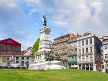 Statue of Prince Henry the Navigator. Porto, Portugal Royalty Free Stock Image