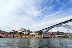 Porto, Portugal. Landscape of the historical center Royalty Free Stock Photos