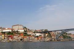 Porto, Portugal Landschap van het historische centrum Stock Fotografie