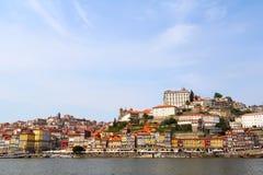 Porto, Portugal Landschap van het historische centrum Royalty-vrije Stock Afbeeldingen