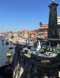 Porto Portugal Louie Bridge van de Duororivier mening royalty-vrije stock afbeelding