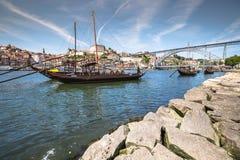 Porto, Portugal -21 May 2015:Porto, Portugal old town cityscape Stock Image