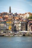 Porto, Portugal -21 Mei 2015: Het historische centrum van Porto was DE Stock Fotografie