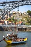 Porto, Portugal -21 Mei 2015: Porto, oude de stadscityscape van Portugal Stock Afbeelding