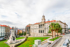 PORTO,PORTUGAL - OCTOBER 21,2012 : The Stock Exchange Palace (Pa. The Stock Exchange Palace Palacio da Bolsa, Porto, Portugal Royalty Free Stock Image