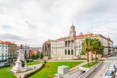 PORTO, PORTUGAL - OKTOBER 21,2012: Der Börse-Palast (PA Lizenzfreies Stockbild