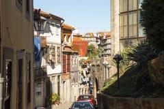 Porto Portugal, Oktober 2018: Europeisk semester arkivfoton