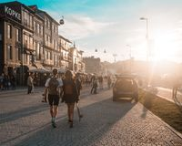 Porto, Portugal - 2018: old city royalty free stock photos