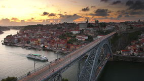 Porto Portugal Old City stock video footage