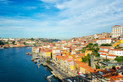 Porto, Portugal old town on the Douro river Stock Image