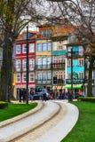 Porto, Portugal old town narrow street view Stock Image