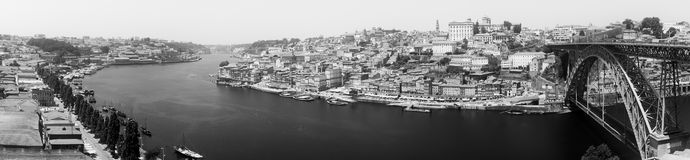 Porto, Portugal old town skyline Royalty Free Stock Images