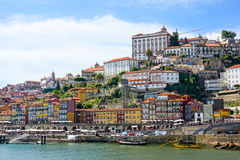 Porto, Portugal old town skyline Stock Image