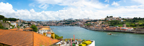 Porto, Portugal old town skyline Royalty Free Stock Photography