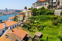 Porto, Portugal old town skyline Royalty Free Stock Photo