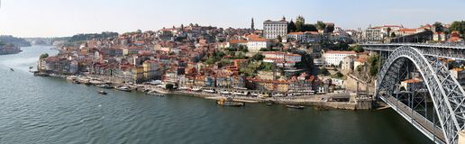 Porto, Portugal. Panoramic view in Porto, Portugal royalty free stock photography
