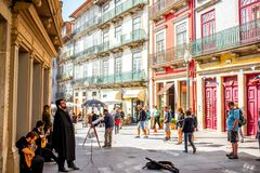 Porto city in Portugal Royalty Free Stock Image