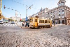 Tram in Porto Stock Photos