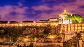 Porto, Portugal: the Serra do Pilar Monastery on the Vila Nova de Gaia side Stock Images