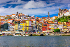 Porto Portugal skyline Royalty Free Stock Images