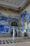 porto portugal stationsdrev royaltyfri bild