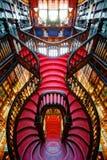 Porto Portugal - 10th September 2015: Den Porto boken shoppar arkivbild