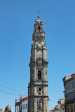 Porto, Portugal: Torre dos Clerigos (The Clergy Tower), 1754, landmark and symbol of the historical city Royalty Free Stock Photography