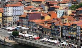 Porto Portugalia, Lipiec, - 10 2010: centrum miasta Zdjęcie Royalty Free
