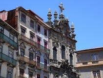 Porto Portugalia, Lipiec, - 10 2010: centrum miasta Zdjęcia Royalty Free