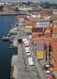 Porto Portugalia, Lipiec, - 10 2010: centrum miasta Zdjęcie Stock
