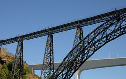 Porto Portugalia, Lipiec, - 10 2010: most Obraz Royalty Free