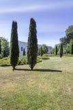 PORTO PORTUGALIA, LIPIEC, - 05, 2015: Serralves uprawia ogródek, zielony park w Porto Zdjęcie Stock