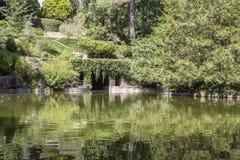 PORTO PORTUGALIA, LIPIEC, - 05, 2015: Serralves uprawia ogródek, zielony park w Porto Fotografia Royalty Free