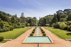 PORTO PORTUGALIA, LIPIEC, - 05, 2015: Serralves uprawia ogródek, zielony park w Porto Obraz Stock