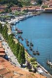 Porto, Portugalia -21 2015 Maj: Porto, Portugalia stary grodzki pejzaż miejski Zdjęcia Stock