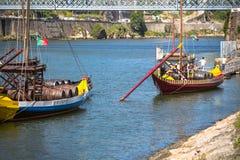 Porto, Portugalia -21 2015 Maj: Porto, Portugalia stary grodzki pejzaż miejski Zdjęcie Royalty Free
