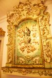Porto Portugalia, Styczeń, - 09, 2019: Wnętrze kościół Clerigos kościół duchowieństwa Wysoki wierza w mieście Po zdjęcie royalty free