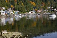 Porto profondo Vancouver BC Canada della baia fotografia stock libera da diritti