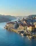 Porto quayside, Portugal Royalty Free Stock Photo