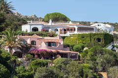 Porto Rafael, Sardegna, Italy. Luxury Porto Rafael in Palau, Sardegna, Italy royalty free stock image