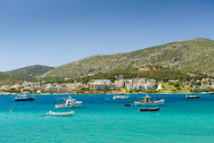 Porto Rafti harbor view, Greece Royalty Free Stock Image