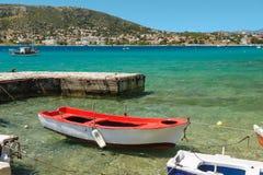 Porto Rafti harbor view, Greece Stock Photo